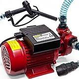 Monzana® Dieselpumpe Ölabsaugpumpe | 370 W | 40L/Min - Ölpumpe Kraftstoffpumpe Saugpumpe