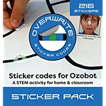 Sticker Codes (Codes Pack) for use with Ozobot