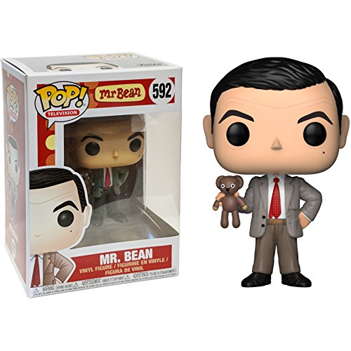 Vinyl Pet (Funko Mr. Bean: Mr. Bean x POP! TV Vinyl Figure & 1 POP! Compatible PET Plastic Graphical Protector Bundle [#592 / 24495 - B])