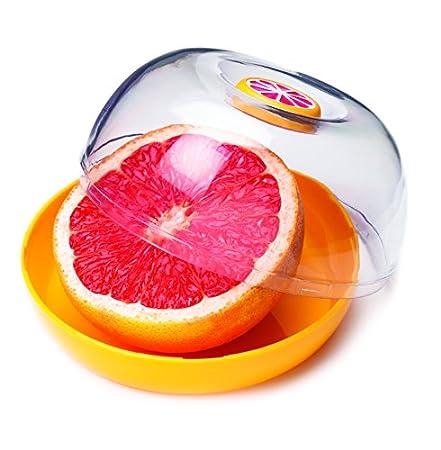 MSC International Joie Fresh Flip Grapefruit Saver Pod, Yellow