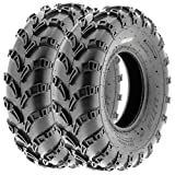 SunF 23x7-10 23x7x10 ATV UTV Trail Race Replacement 6 PR Tubeless Tires A028, [Set of 2]