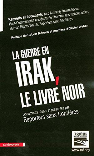 La guerre en Irak, le livre noir Broché – 2 décembre 2004 La Découverte 2707144533 9782707144539_MESSADP_US Géopolitique