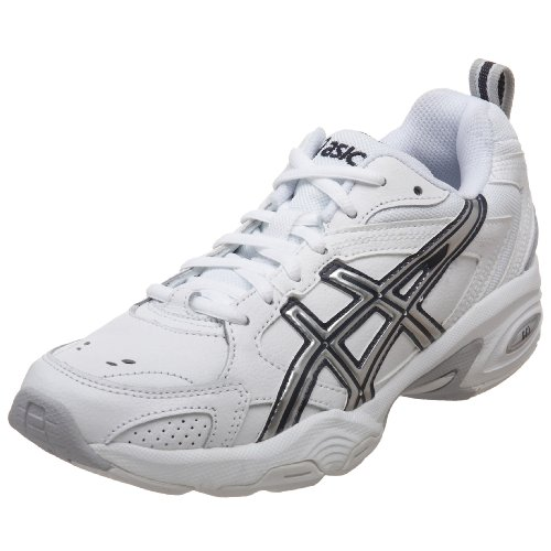 ASICS Women's GEL-TRX Training Shoe,White/Silver/Navy,8.5 M