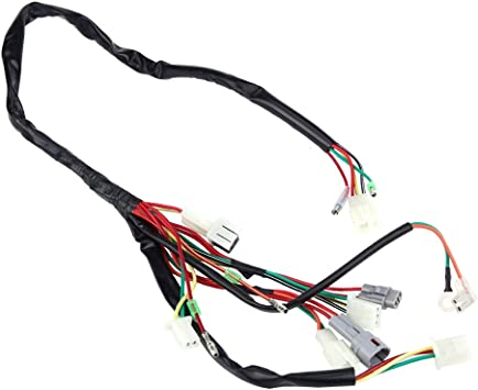 Amazon.com: Wire Harness, Motorcycle Replacement Wire Wiring Harness  Assembly for PW50: Automotive  Amazon.com