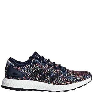 adidas Men's Pureboost Running Shoes Collegiate Navy/Core Black/Scarlet, Mens, CM8305, N/A, 9 D(M) US