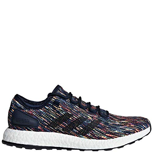 adidas Men's Pureboost Running Shoes Collegiate Navy/Core Black/Scarlet 12