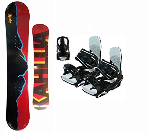 155cm-kahlua-mudslide-red-black-snowboard-package-with-symbolic-black-large-bindings
