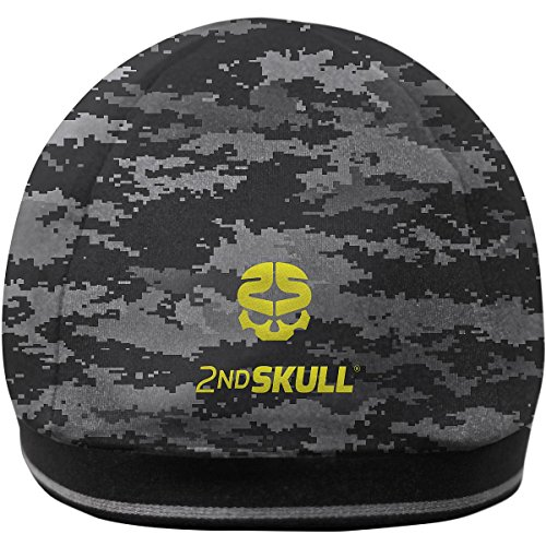 (2nd Skull Protective Skull Cap, Digital Camo, Teen/Adult)