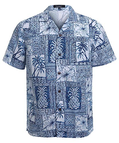 - YEAR IN YEAR OUT Mens Hawaiian Shirt Regular Fit Hawaiian Shirts for Men with Quick to Dry Effect(NT1917,XXL)