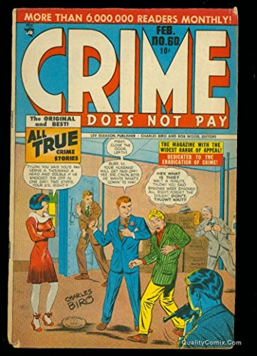 Crime Does Not Pay #60 GD/VG 3.0