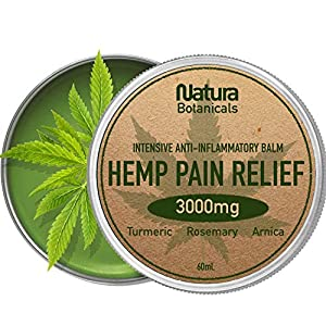 Hemp Pain Relief Balm – Premium Natural Pain...