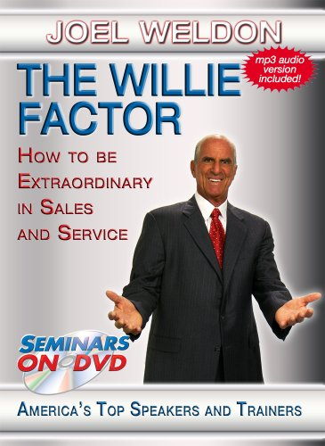The Willie Factor - How to Be Extraordinary in Sales and Service - Seminars On Demand Sales and Customer Service Business Training Video - Speaker Joel Weldon - Includes Streaming Video + DVD + Streaming Audio + MP3 Audio - Compatible with All Devices