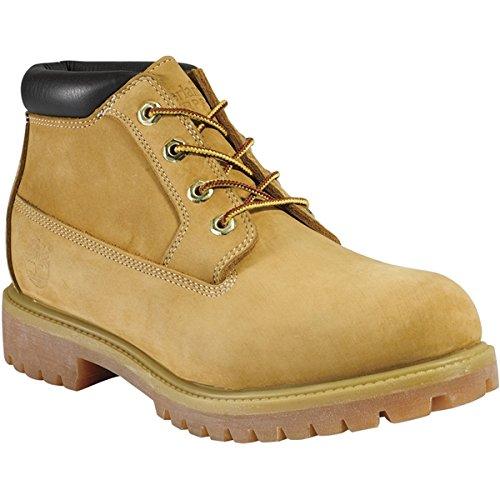 Timberland Mens Boots Premium Chukka Waterproof Wheat Suede Style# - Boot Waterproof 6 Premium