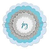 Sizzix 661537 Framelits Die Set, Circles, Rounded Scallops by Sharyn Sowell (5-Pack),,