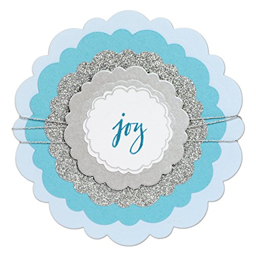 Sizzix 661537 Framelits Die Set, Circles, Rounded Scallops by Sharyn Sowell (5-Pack),, by Sizzix
