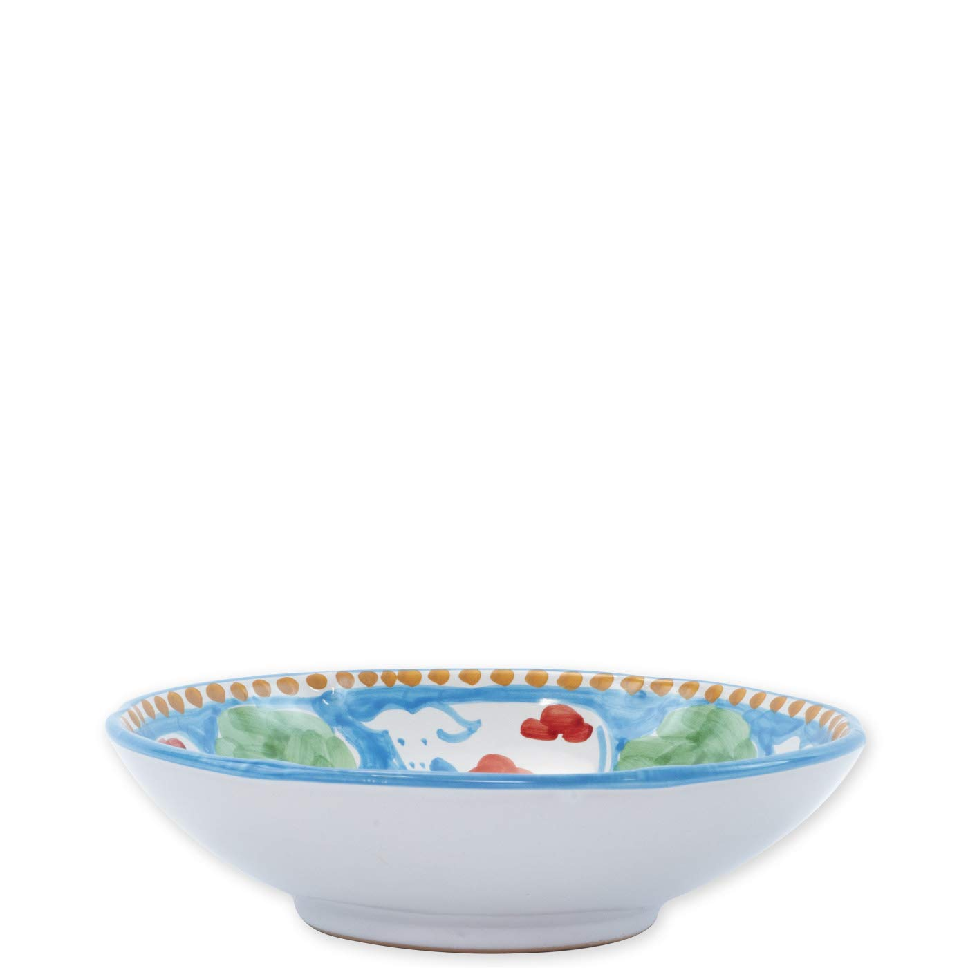 Vietri Mucca Coupe Pasta Bowl - Campagna Collection MCA-1003