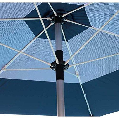 Patio Umbrella Uv Protection: UV-Blocker Large Beach Umbrella With (55+ UPF) UV