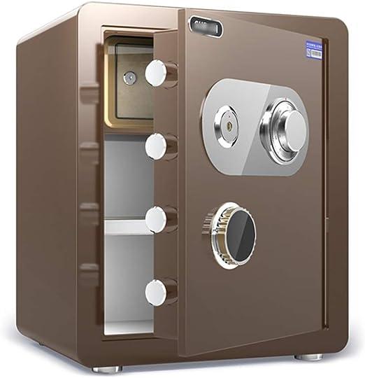 Cajas fuertes Caja de Depósito con Contraseña Mecánica, Caja de Seguridad Invisible de Acero de Gran Capacidad Y Caja Fuerte Mini Cerradura Mecánica, 2 Colores Y 3 Tamaños Opcional Gabinete seguro: Amazon.es: