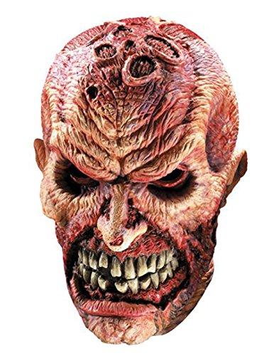Smiley Killer Halloween (Rubie's Adult Overhead Latex Mask,)