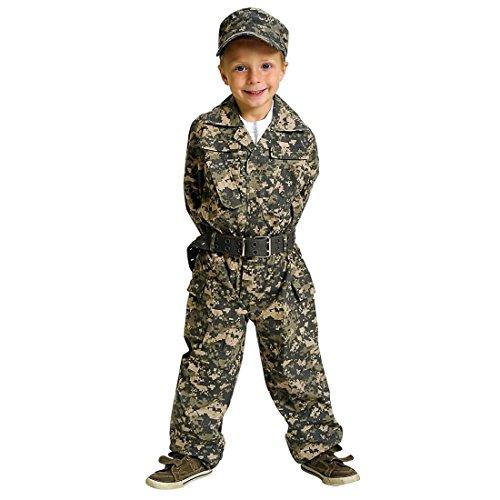 Jr. Camo Gear Costume - (Emmet Costume Halloween)