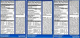 Variety Bundle of 3 Boxes Unfrosted Pop Tarts: Flavors are Blueberry, Brown Sugar Cinnamon, and Strawberry,