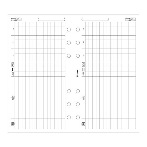 - FILOFAX Finance Leaves for Personal & Personal Compact Organizers, 20 Sheets (B130618)
