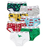 Carter's Boys' 7 Pack Dinosaur And Firetruck Underwear 4T/5T