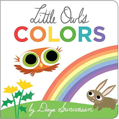 Little Owl's Colors (Owl Babies Board Book)