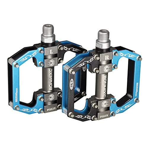 Bicycle Pedal Bearing Pedal (Bonmixc Bicycle Pedals 9/16