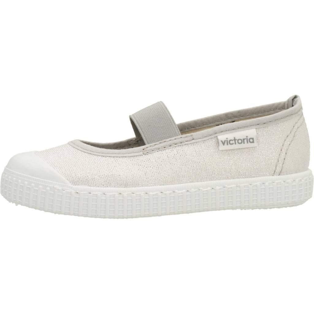 Zapatillas para niña, Color Beige, Marca VICTORIA, Modelo Zapatillas para Niña VICTORIA Lona Tira Goma Beige: Amazon.es: Zapatos y complementos