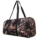 Natural Camo Quilted Duffle Bag BRN