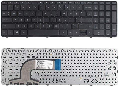 US Keyboard with Frame For HP 15-f199nr 15-f205dx 15-f209nr 15-f209wm 15-f210ca