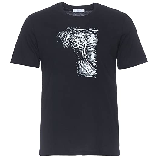 Amazon.com  Versace Collection Black Half Medusa T-Shirt  Clothing c7c4b7d466a