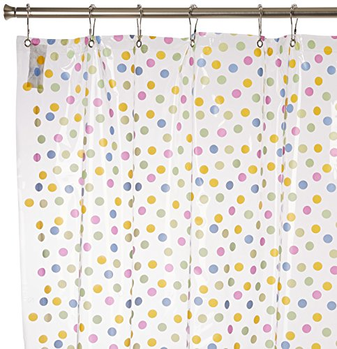 clear design shower curtain - 8