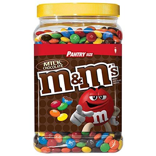Candy Gift Jar - M&M's Milk Chocolate Candies 3Lb 14oz Jar
