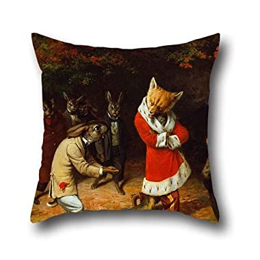 Pillow Shams Of Oil Painting Beard, William Holbrook - His Majesty Receives 18 X 18 Inch / 45 By 45 Cm,best Fit For Christmas,bench,divan,monther,club,deck Chair Double Sides