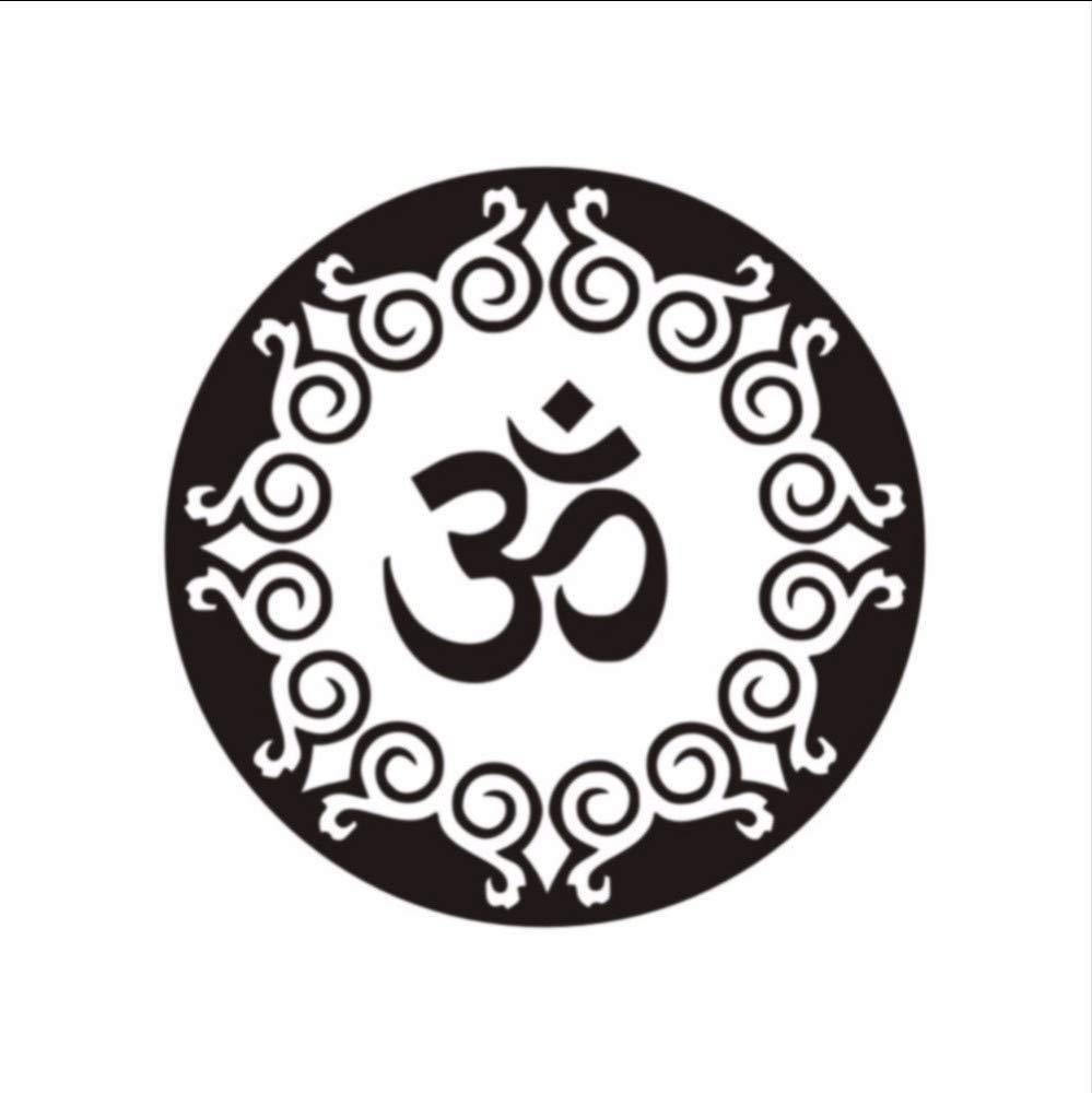 smydp Om Yoga Símbolo Tatuajes De Pared Patrón Mandala Religiosa ...