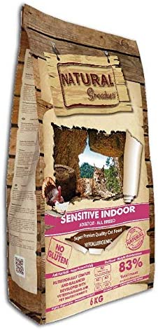 Natural Greatness Pienso seco para Gatos Receta Sensitive Indoor ...