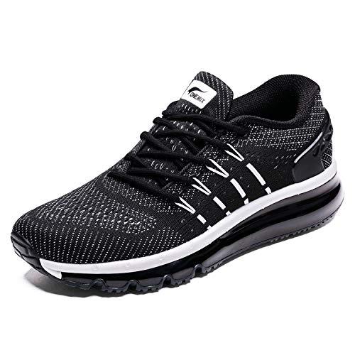ONEMIX Men's Lightweight Gym Running Shoes Non Slip Breathab