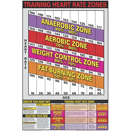 Heart Rate Charts AmazonCom