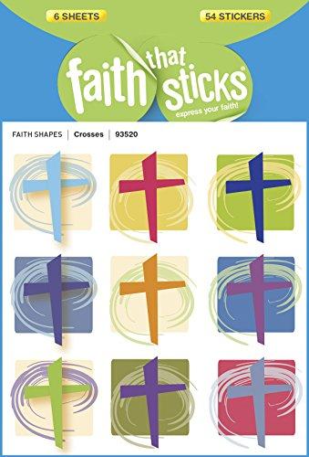 Crosses (Faith That Sticks Stickers) (Crosses Faith By)