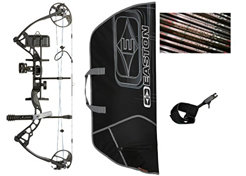 Diamond Infinite Edge Pro Compound Bow, Black, Right Hand, Ready to Hunt (Diamond Compound Bow)