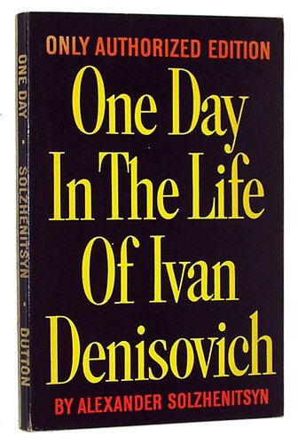 one day in the life of ivan denisovich analysis essay You're being asked to perform literary analysis one essay prompt might ask you to buy the print one day in the life of ivan denisovich sparknote.