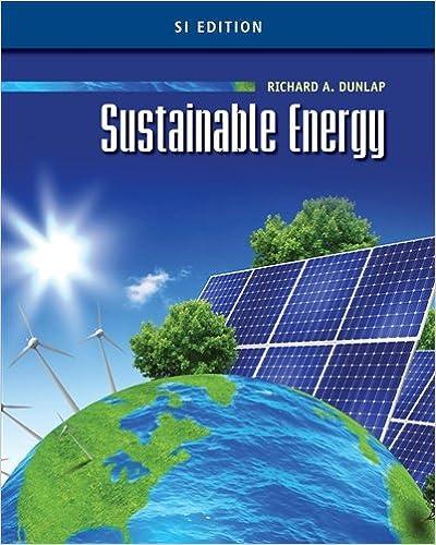 Sustainable energy si edition richard a dunlap 9781133108771 sustainable energy si edition 1st edition fandeluxe Gallery