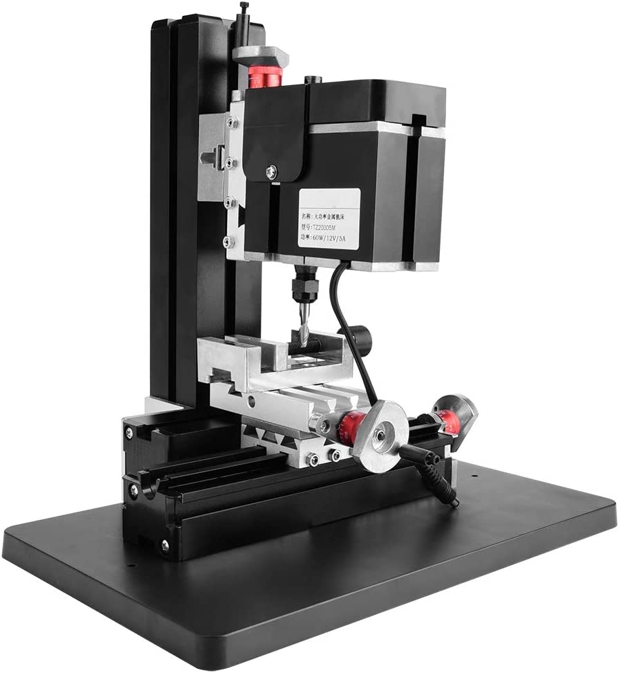 SCALE LINES 12VDC | 5A | 60W MINI 0.02MM ACCURACY MINI MILLING LATHE HIGH ACCURACY ELECTRICITY FOR INDUSTRY MECHANICAL