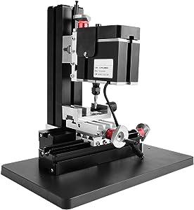 60W 12000RPM Multifunction Worktable Power Milling Machines 100-240V Mini Metal Lathe DIY Miniature Milling Machine