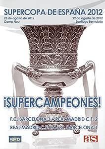 SUPERCOPA DE ESPAÑA 2012 FC Barcelona - Real Madrid DVD: Amazon.es ...
