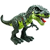 LilPals Live Action T-Rex Walking Dinosaur - With Dinosaur Sounds And Color Changing Lights – King Of The Dinosaurs: Tyrannosaurus Rex!!!