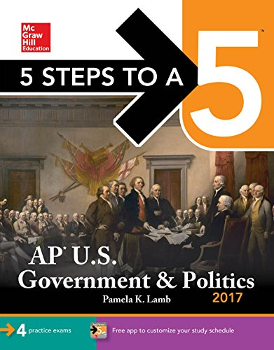 5 Steps to a 5: AP U.S. Government & Politics 2017 cover