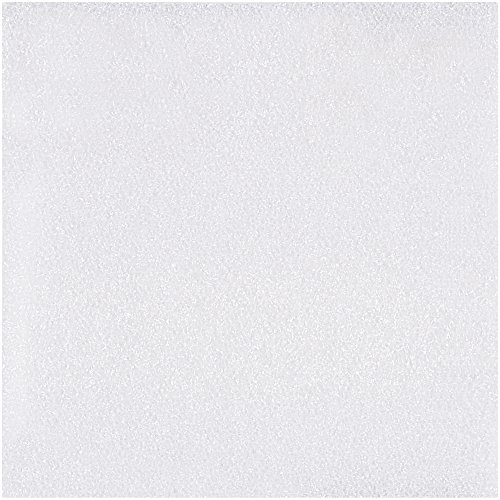 BOX USA BFS0404 Air Foam Sheets, 4'' x 4'', White (Pack of 3200) by BOX USA